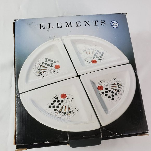 Elements 4 Serving Dishes